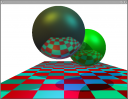 Raytracer Assignment - Fuzzy Shadows